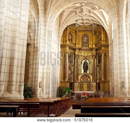 Church Of Hornillos Del Camino, Spain
