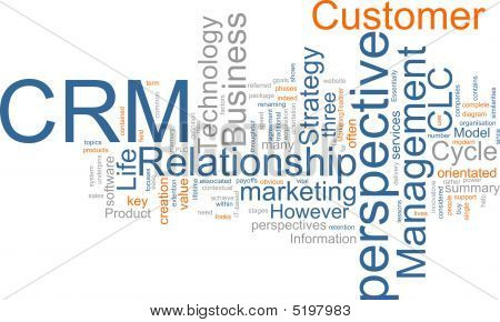 Crm Word Cloud
