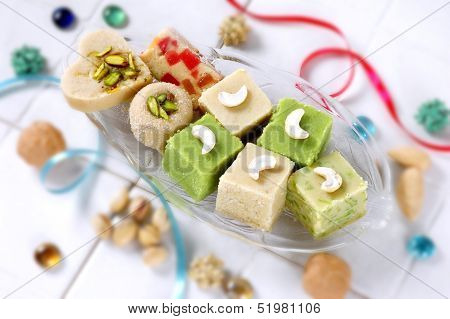 Assorted Milk Solid Sweets