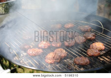 Barbeque Mini Burgers