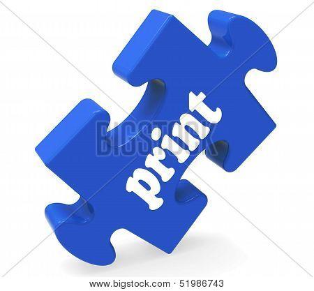Print Key Shows Printing Copying Or Printout
