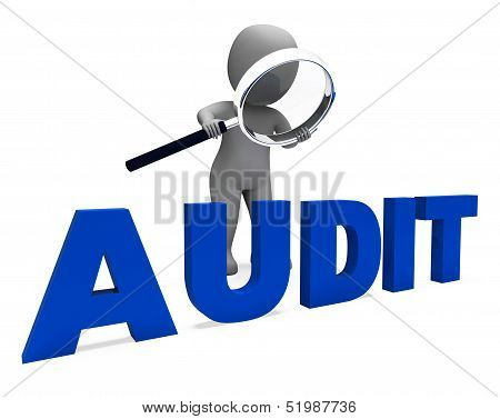 Audit Character Means Validation Auditor Or Scrutiny.