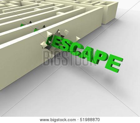 Escape From Maze Shows Jailbreak