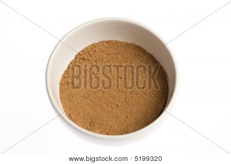 Cacao Powder In Bowl