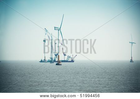 Construction Of Wind Power