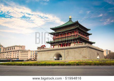 Ancient City Xian Bell Tower
