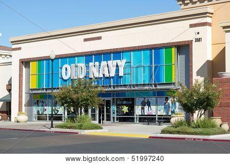 Sacramento, Usa - September 23:  Old Navy store.