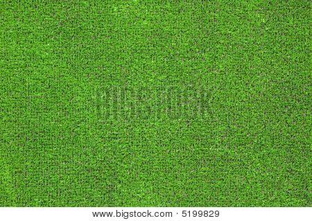 Green Artificial Grass Plat