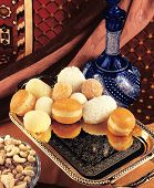 stock photo of laddu  - A verity of delicious - JPG
