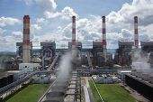 picture of thermal  - Production line in thermal a power plant - JPG