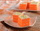 stock photo of barfi  - Delicious - JPG