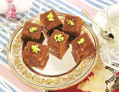 stock photo of halwa  - Delicious and healthy halwa - JPG