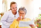 stock photo of hospice  - Find the right home care services for you - JPG
