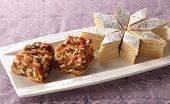 picture of barfi  - A delicious and famous sweet food  - JPG