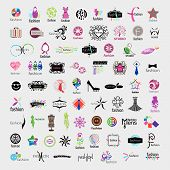 picture of bow tie hair  - biggest collection of vector icons of fashion accessories and clothing - JPG