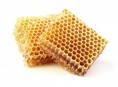 pic of honeycomb  - Honeycombs in closeup - JPG
