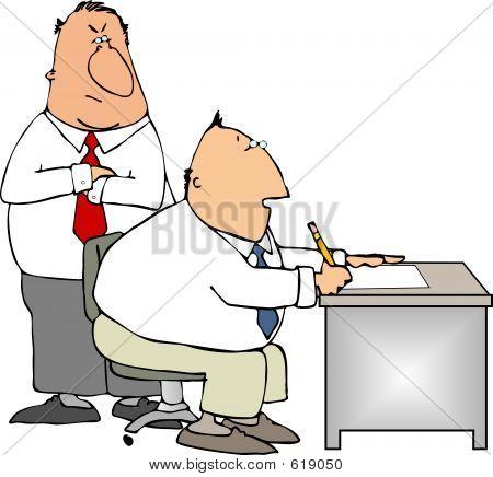 Jefe y trabajador