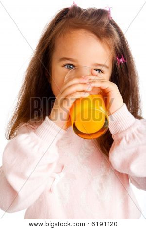 Girl With Juice