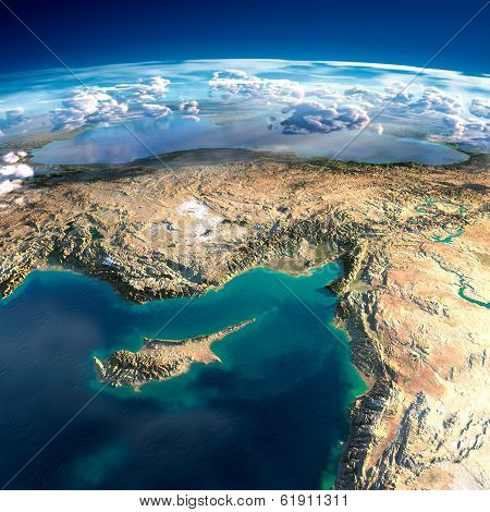 Fragments Of The Planet Earth. Fragments Of The Planet Earth. Cyprus, Syria And Turkey poster