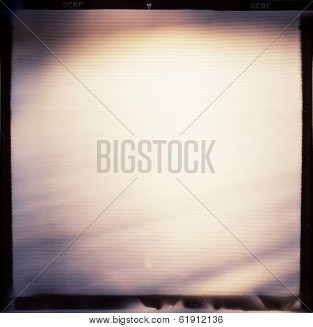 Medium format film frame background.