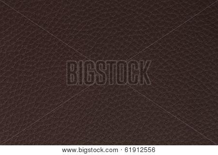 background made of dark brown leath