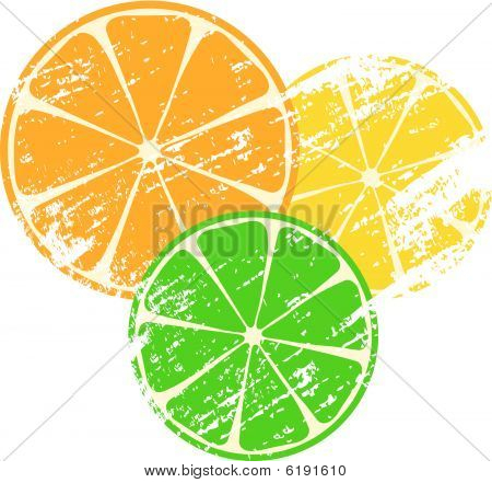 grunge citrus