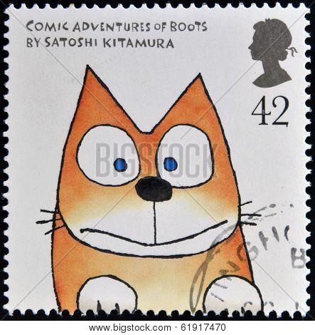 stamp printed in Great Britain