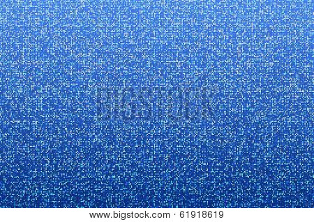 Blue seamless shimmer background with shiny round paillettes. Sparkle glitter techno background .Blue Technology Background, vector illustration