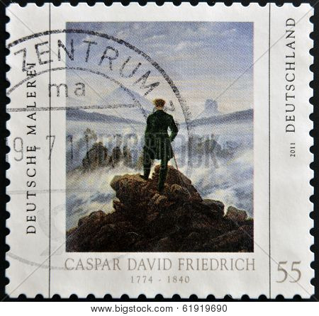 GERMANY - CIRCA 2011: A stamp printed in Germany shows a picture of
