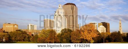 Hartford cityscape