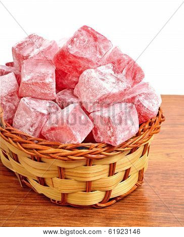 Turkish Sweet Delights In The Basket