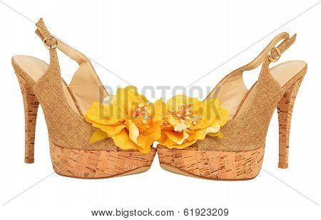 Open Woman Shoes