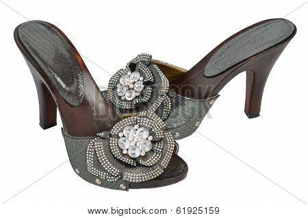 Woman Open Shoes
