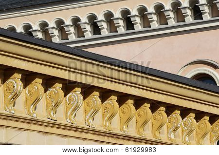Architectural Details, Cornices And Windows