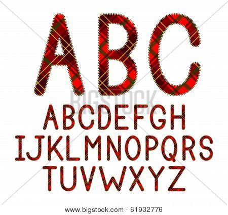 Plaid Font
