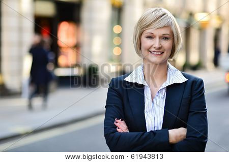 Confident Business Woman Portrait