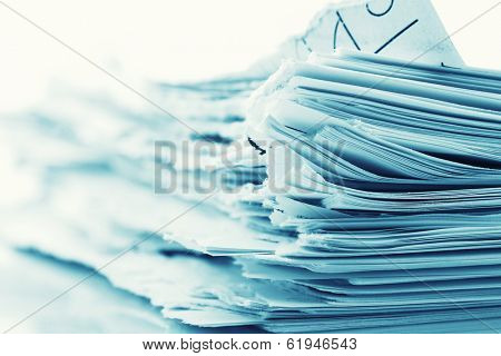 Ragged paper sheets