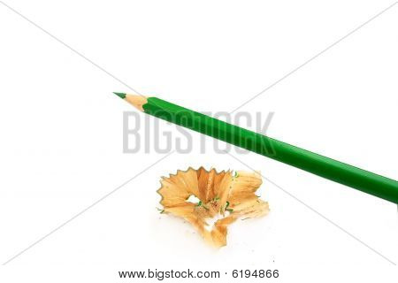 Sharpener And Pencil