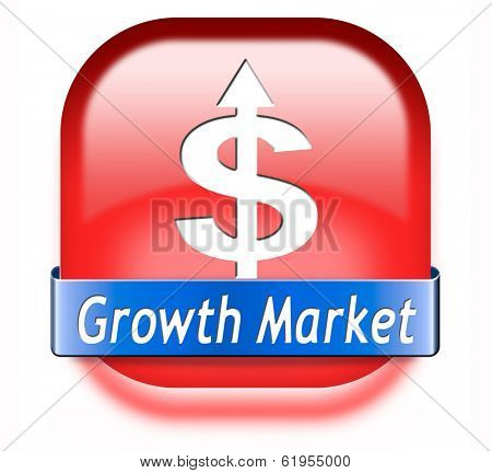 growth market economy growing emerging economies in international and global leading countries
