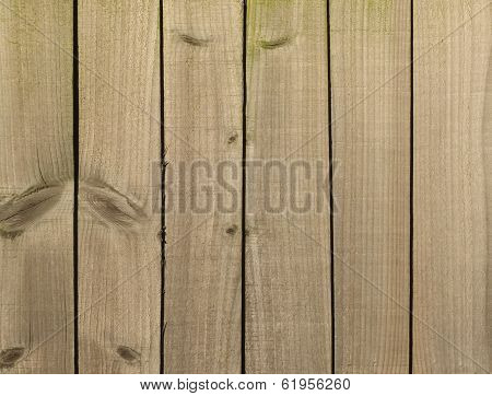 Background wood panel fence