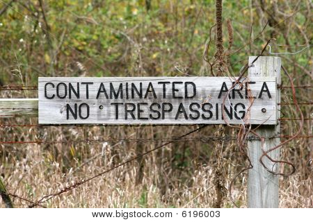 Contaminated Area