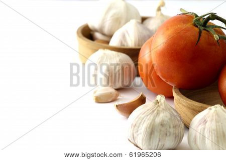 Tomatoes And Garlic