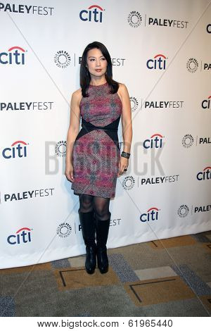 LOS ANGELES - MAR 23:  Ming-Na Wen at the PaleyFEST 2014 -