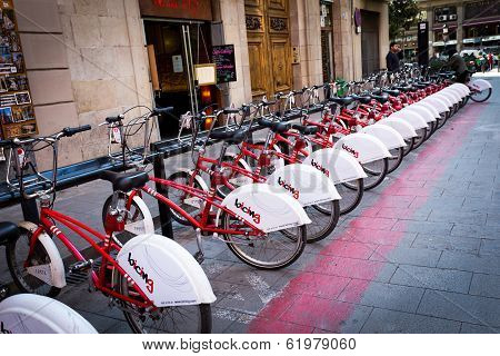 Barcelona Public Bike Sharing