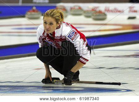 Curling Women Russia Fomina Watches Rock
