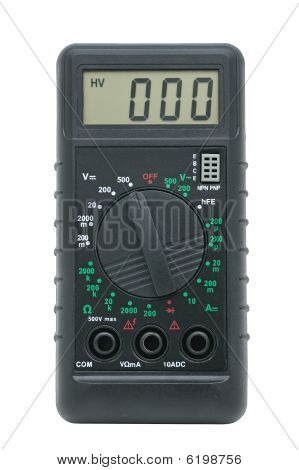 Multimeter For A Measurement