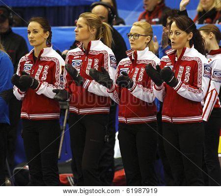 Curling Women Russia Team