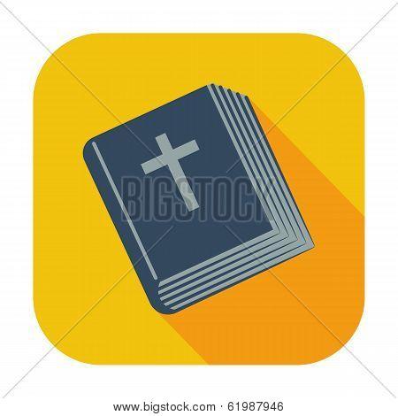 Bible single icon.