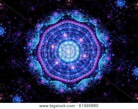 Magic Mandala Space Object
