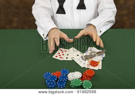 The Gambler Losing His Game